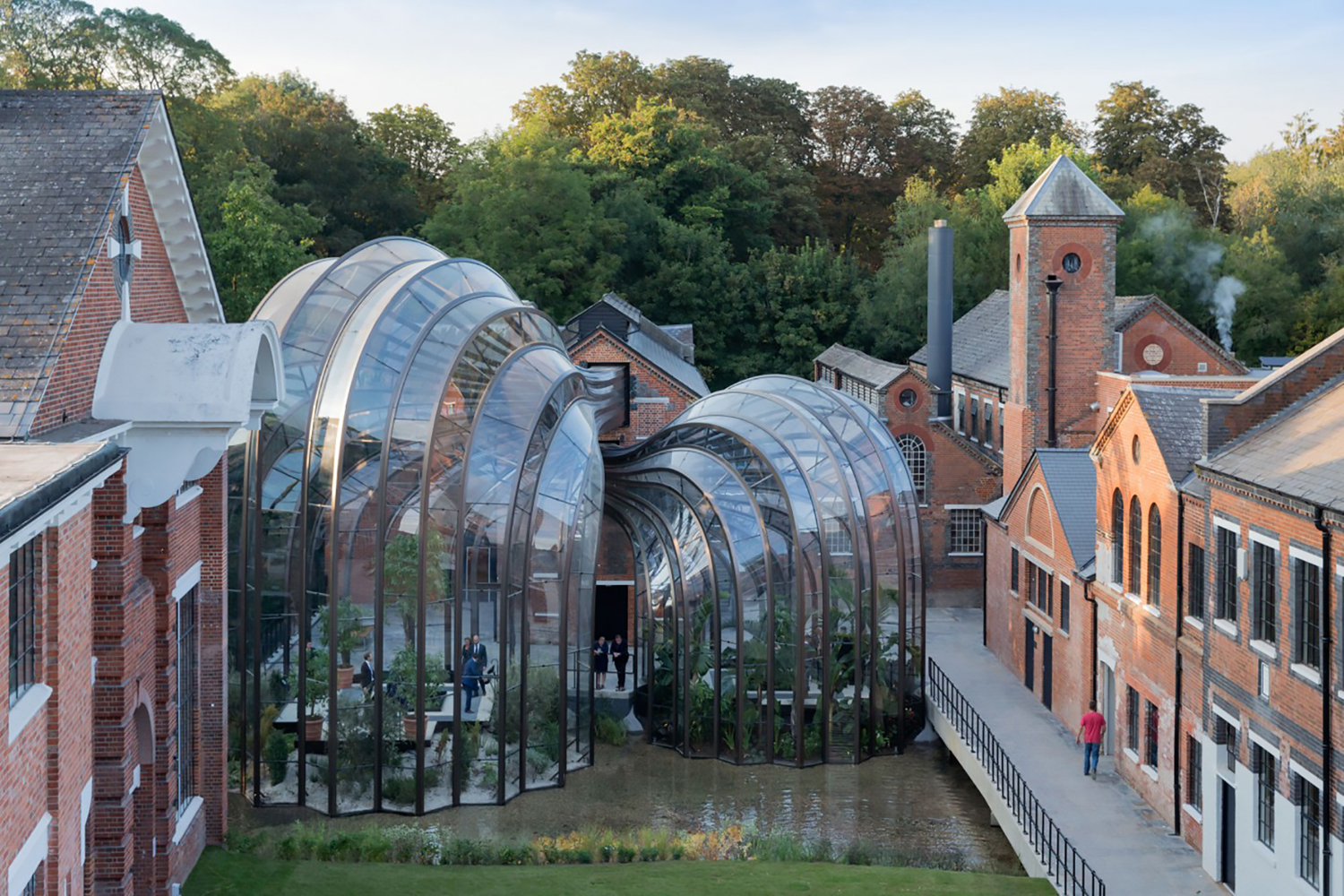 Protective coating was used at this award winning distillery