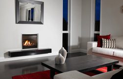 Superior functionality and design: gas fireplaces