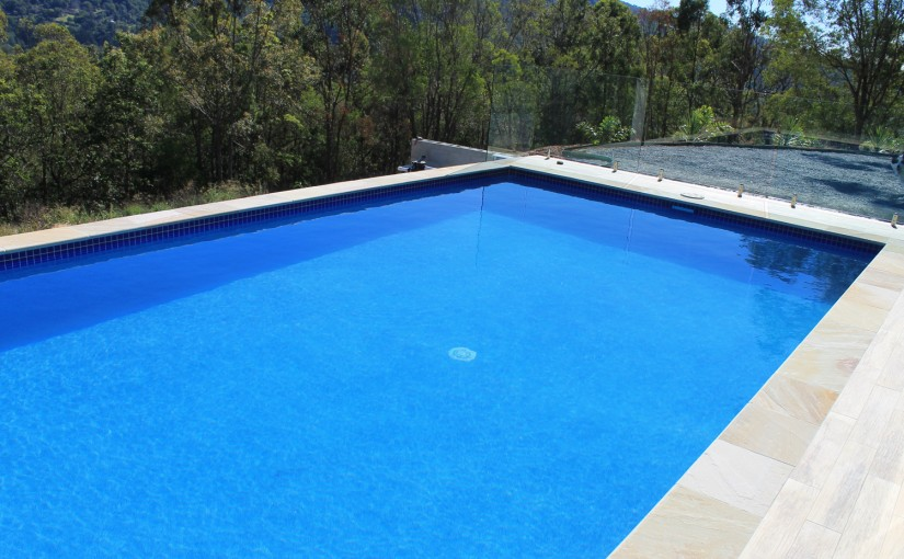 Pool project: stylising with an interior finish