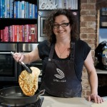 Julie Goodwin cooks up a storm with the Complete Home team