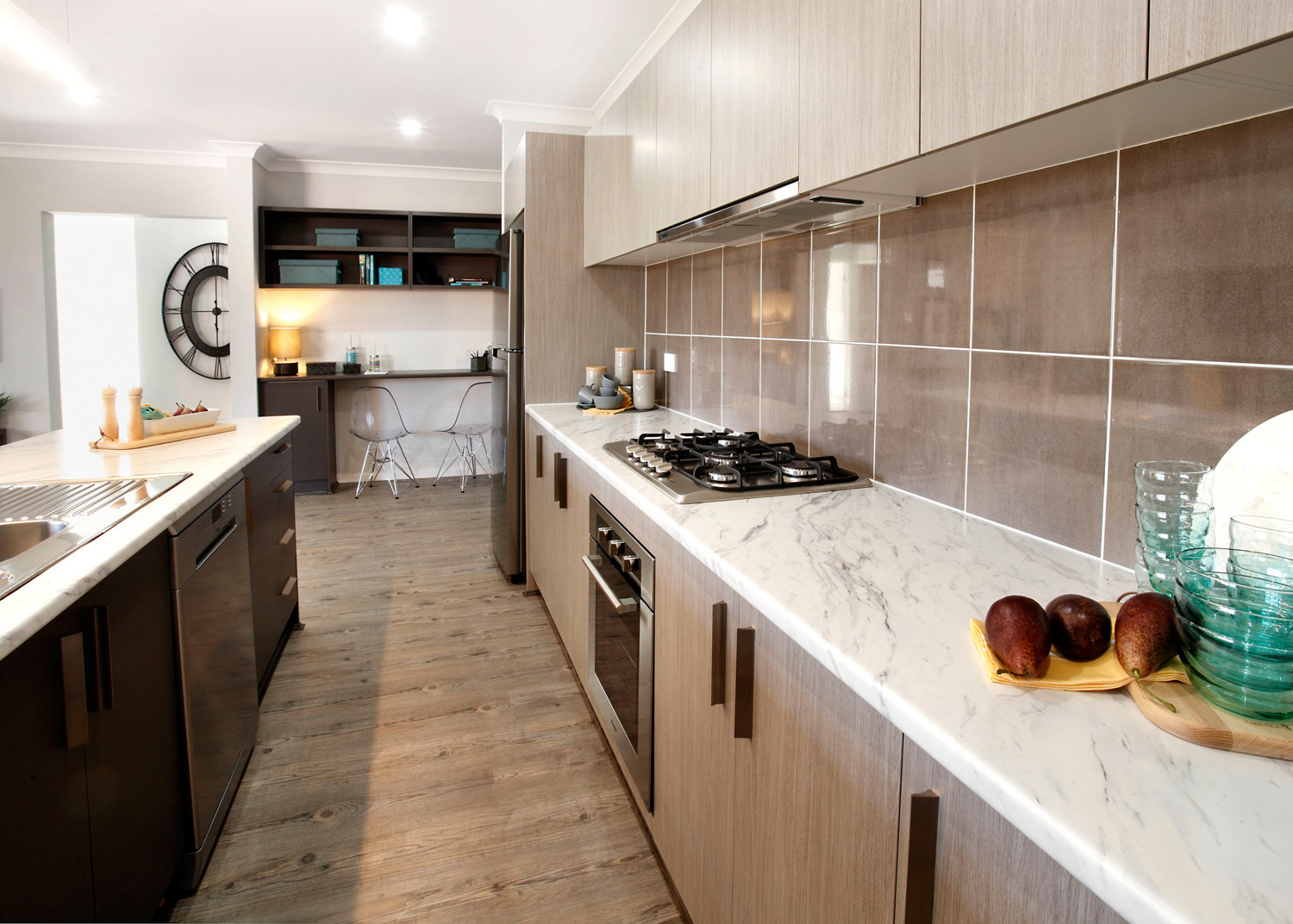 This re-build home is an example of the great designs you can expect from Jandson Homes