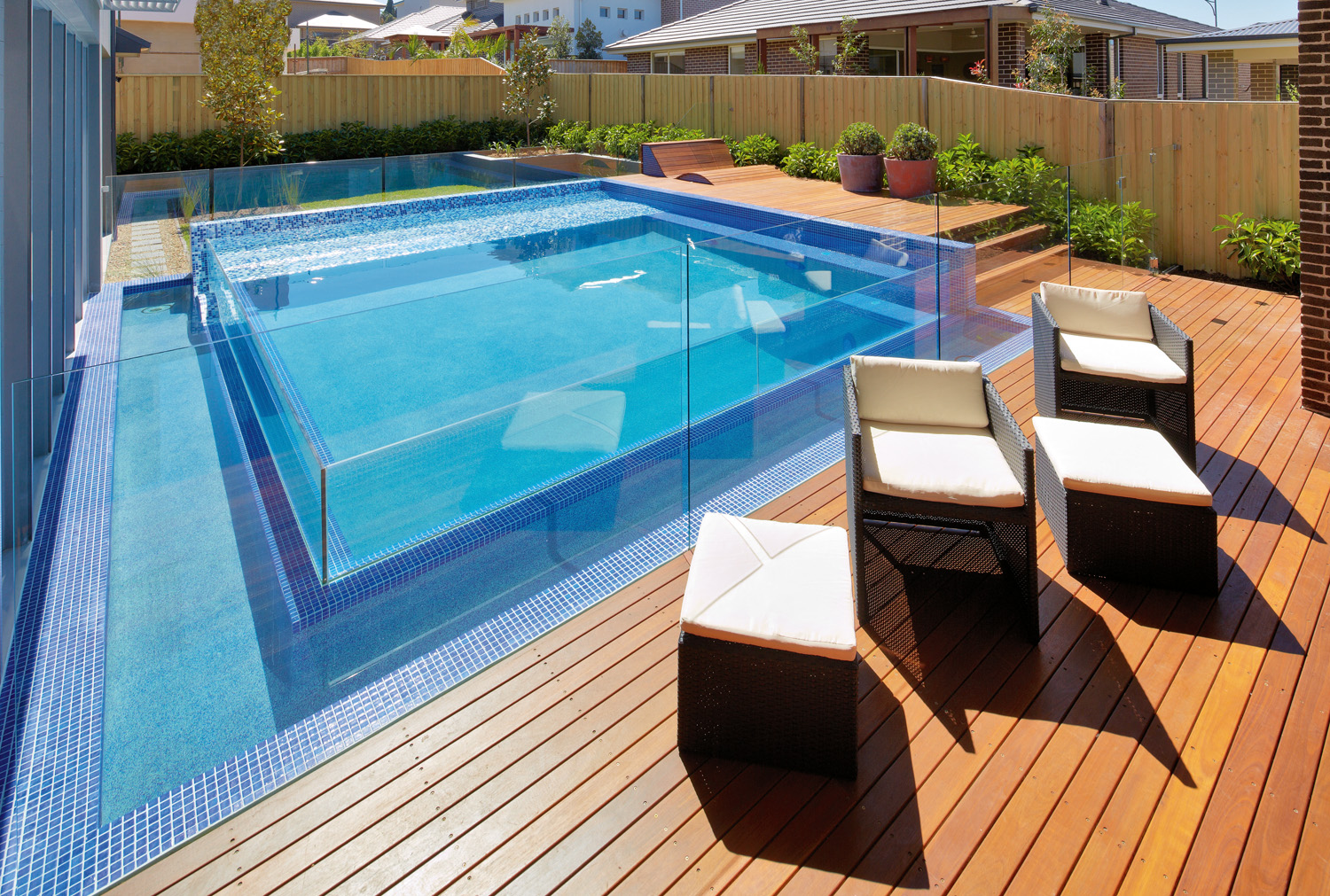Entertainers paradise: a pool project