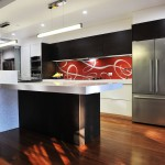 Personalized printed glass splashbacks and feature walls
