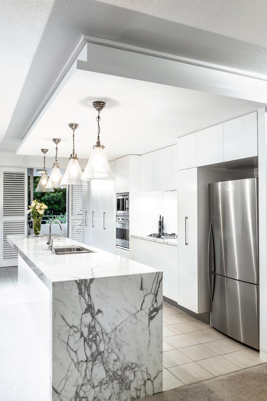 Touch of grandeur: kitchen design