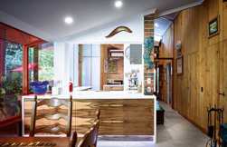 One of a kind: a modern kitchen