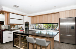 Neat and clean: kitchen design