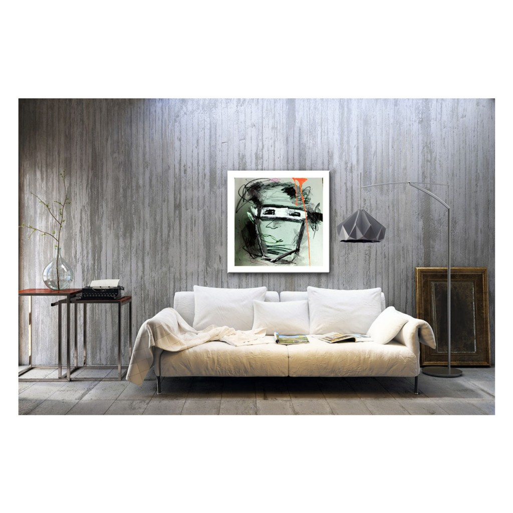 Sofa von betonwand - sofa in front of a concrete wall