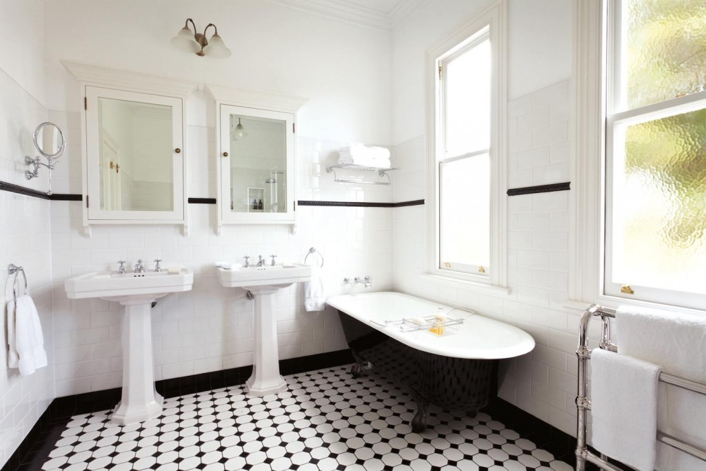 Art Deco Inspired Bathroom Design Completehome