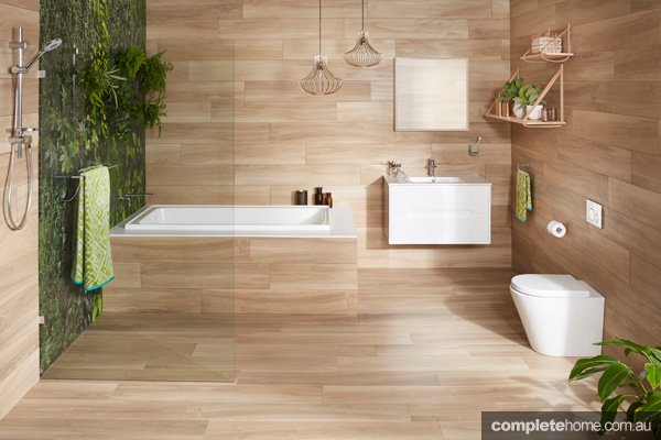 Simple Organic And Timeless Bathroom Design And Accessories Completehome