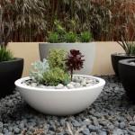 Maximum impact: glass-fibre reinforced pots