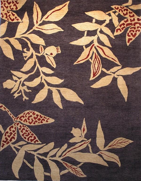 Hand-knotted wool Snowgum rug, rugsofdistinction.com.au