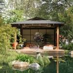 Melbourne International Flower & Garden Show: Tea garden design