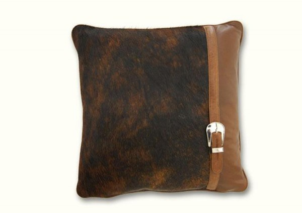 J. Colter Hair on Hide cushion, carrollleather-furniture.com