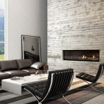 The difference between open and glass-fronted fireplaces