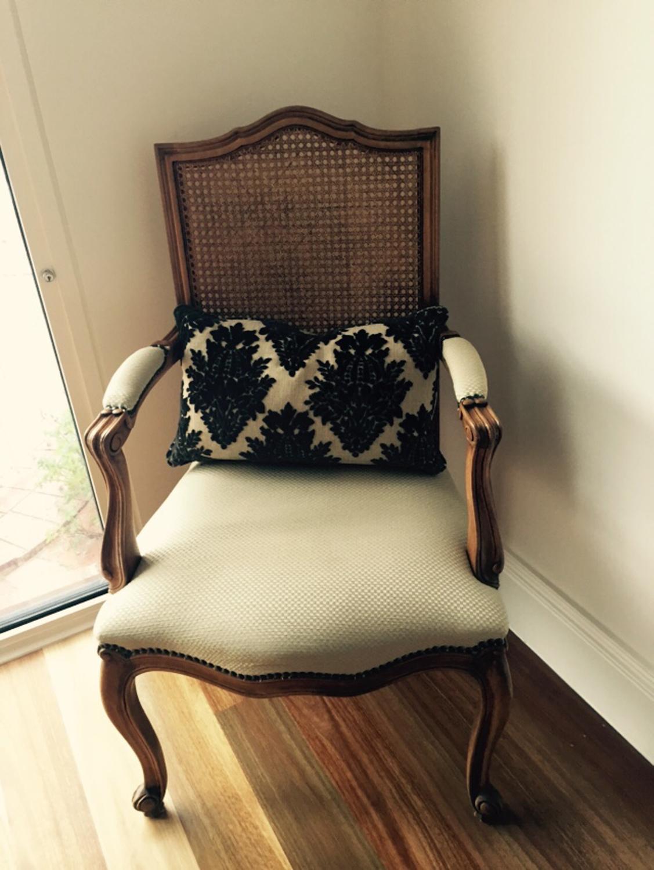 Louis XV Orlando cane back chair