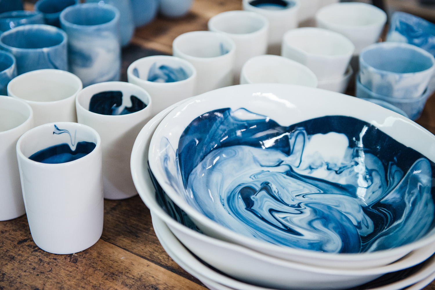 Ceramicist Milly Dent is beautifying tableware one piece at a time.