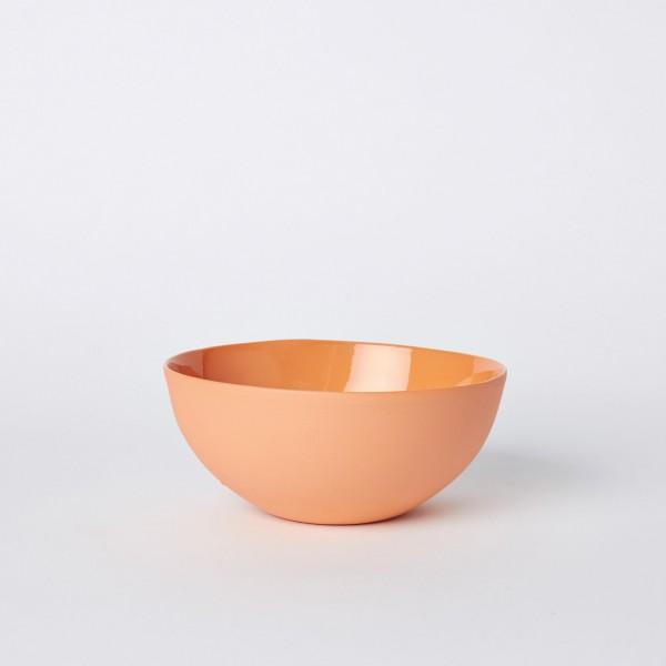Mud Noodle bowl in orange, $78, mudaustralia.com