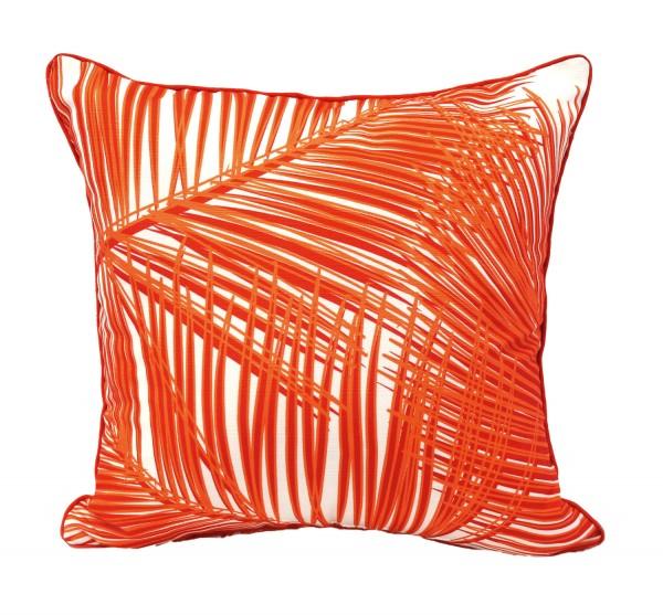 Palm Fronds Fire cushion, wamhomedecor.com.au
