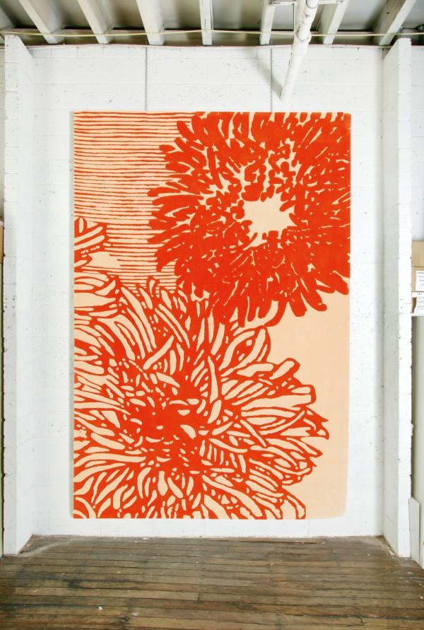 Akira Isogawa Nara 1 rug 200 x 300cm, $5940, designerrugs.com.au