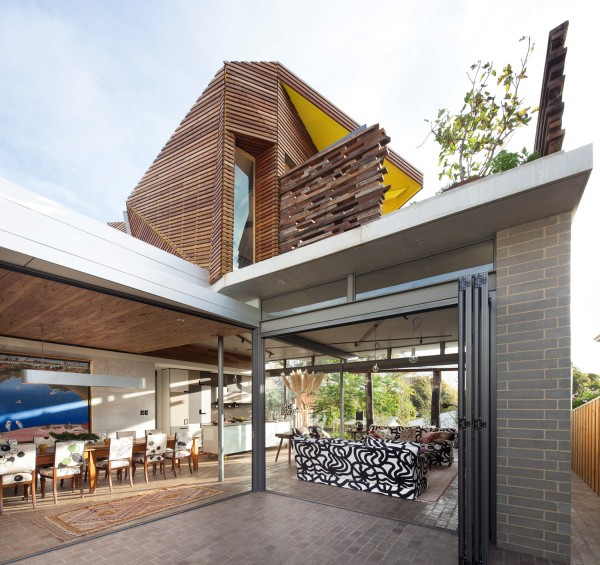 Claremont Origami House by Ariane Prevost Architect