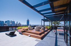 Top of the world: rooftop garden
