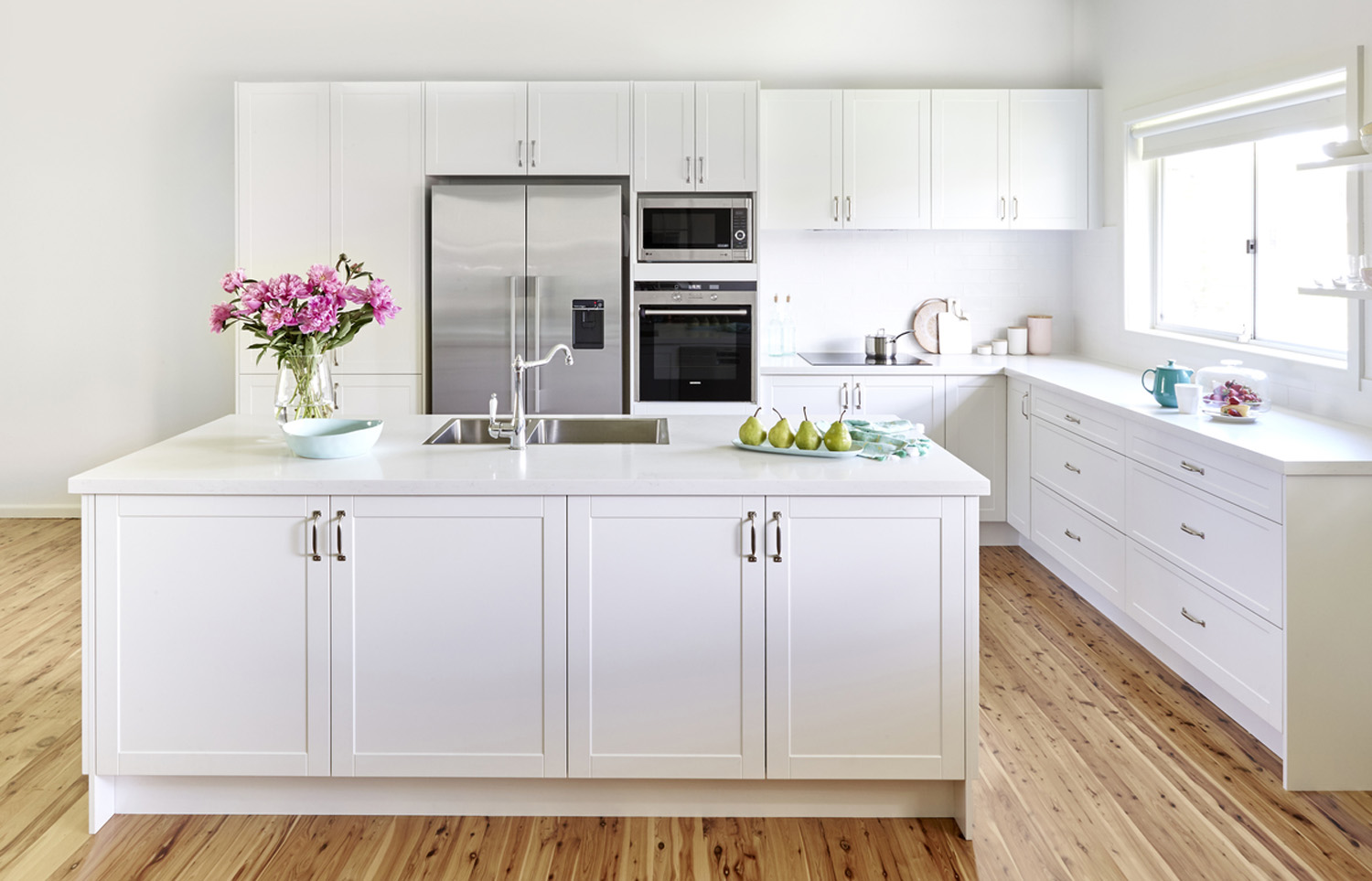 Freedom Furniture Kitchens Real Kitchen Elegant And White Completehome