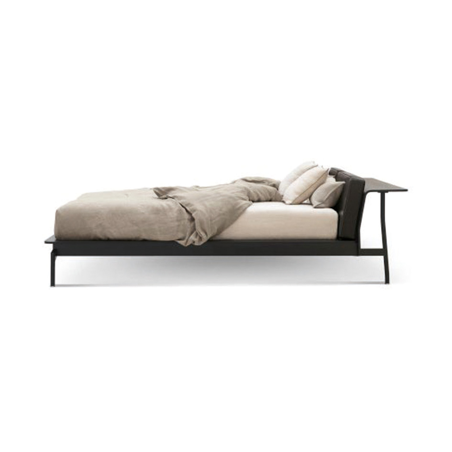 Sled bed by Rodolfo Dordoni for Cassina, from $19,485, cultdesign.com.au