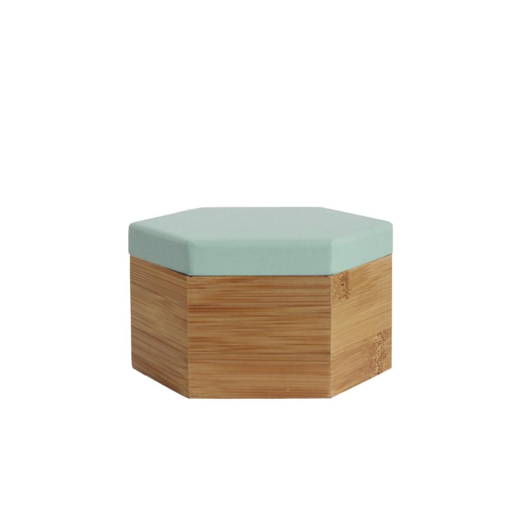 Hex box in medium, $47, residentgp.com.au