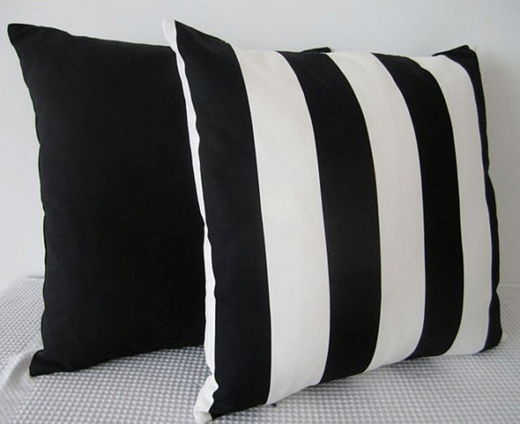 Handmade stripe cushion covers, etsy.com/au/shop/miaandstitch