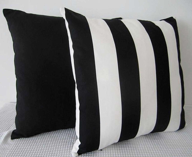 Handmade stripe cushion covers, etsy.com/au/shop/miaandstitch