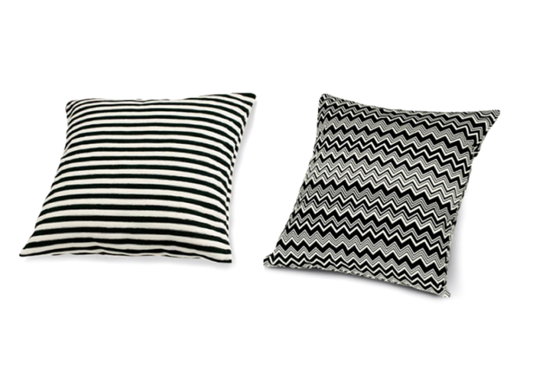 Stripe and chevron cushions by Missoni, spenceandlyda.com.au
