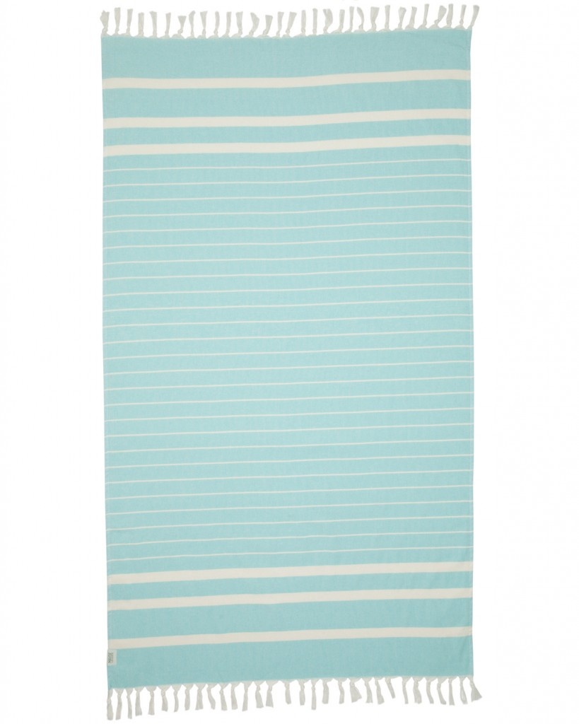 Newport cotton linen towel, $60, mayde.com.au