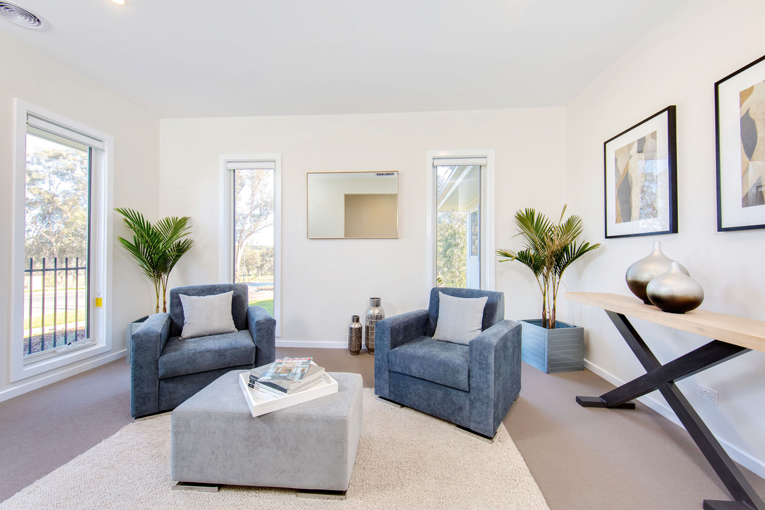 A comfortable sitting room is the ideal spot to unwind