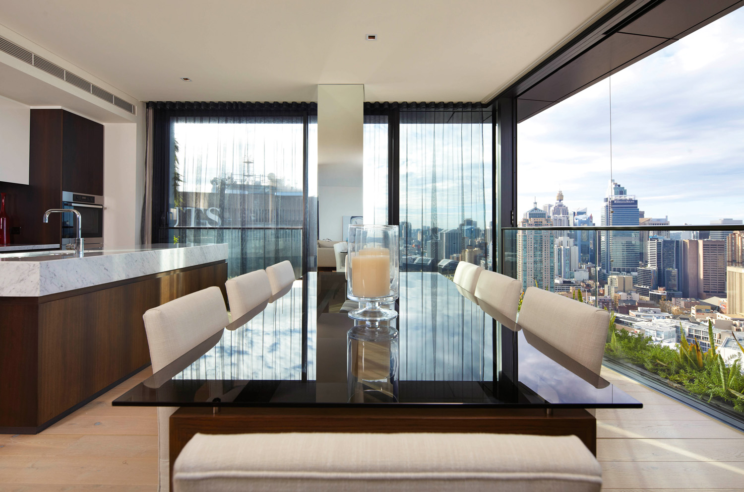 Real penthouse: Sky high