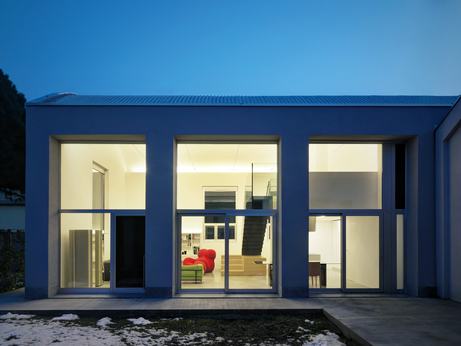 Real home: Factory reopened