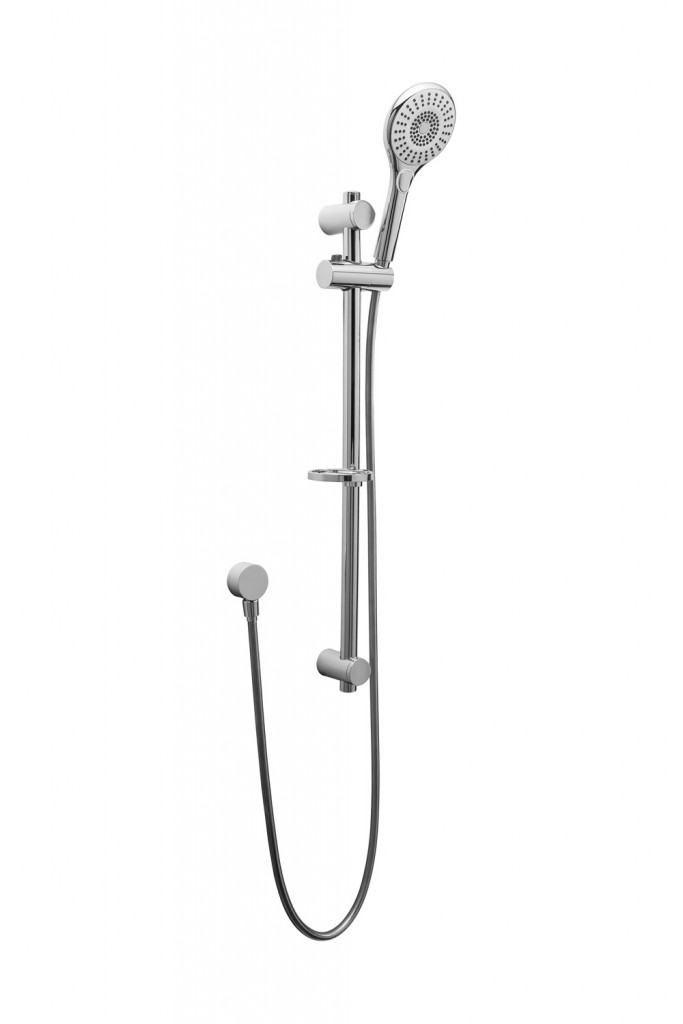 Raymor Shay hand shower with rail, $199, tradelink.com.au
