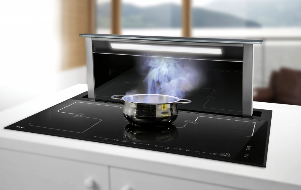 This induction cooktop representing the latest in kitchen tech