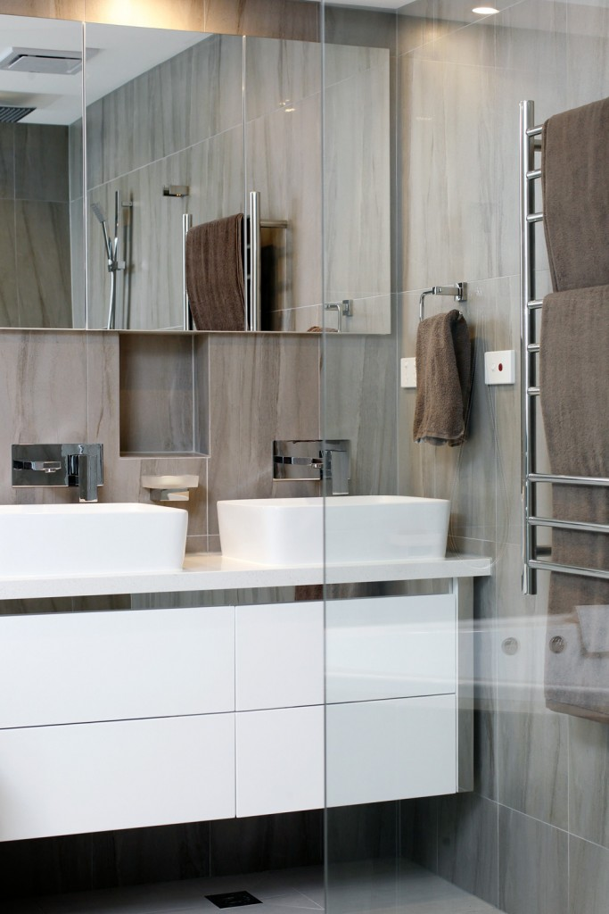Luxe Novus recessed mirrored cabinets, from $229, tbsm.net.au