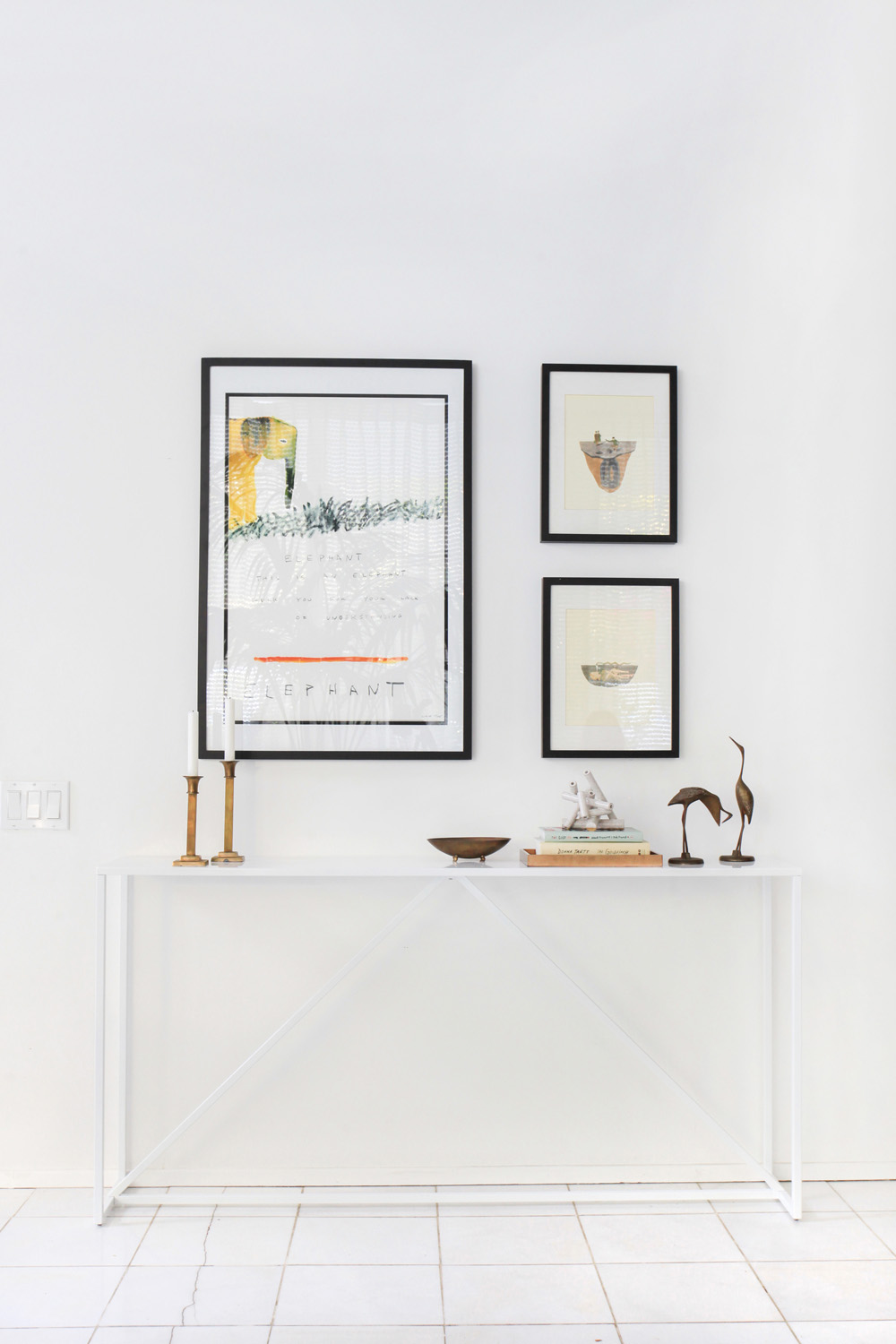 Decor pieces add personality to a space