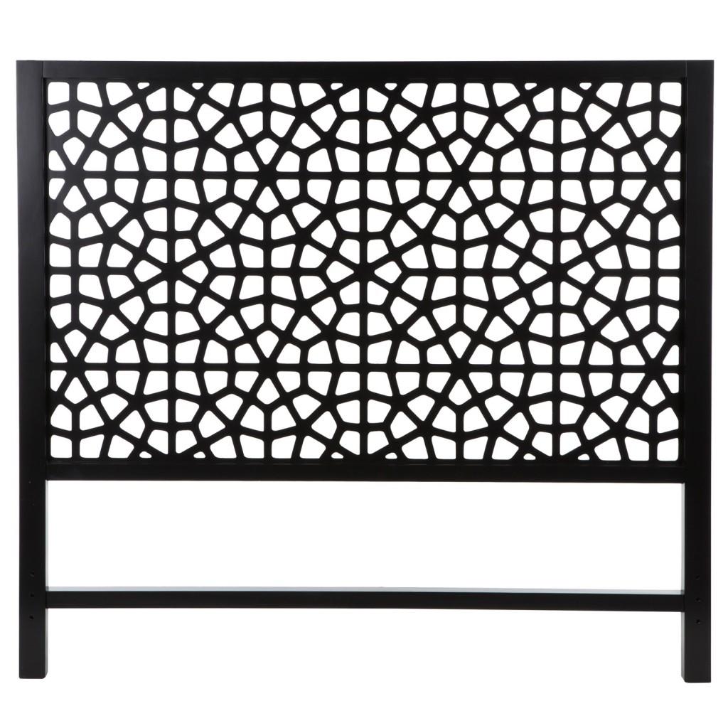 Marrakesh black bed head, from $299.95, zanui.com.au
