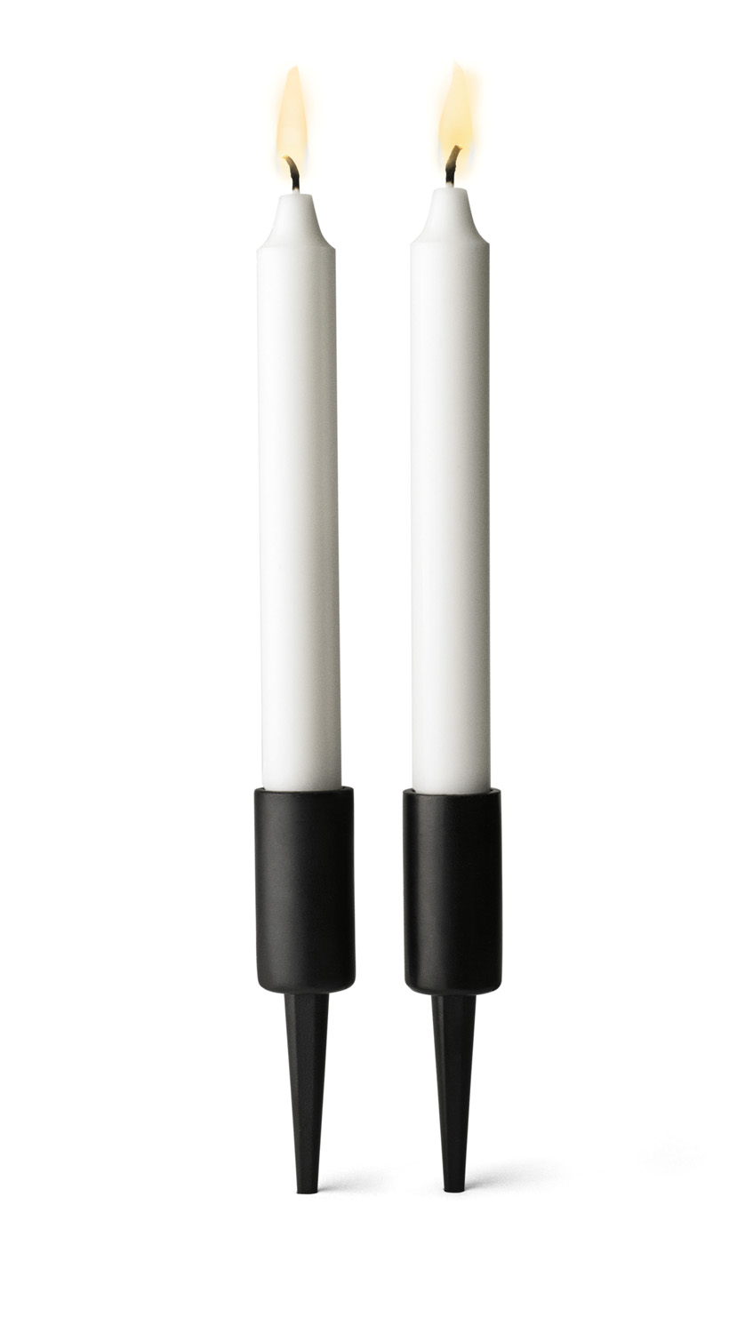 Menu's vertical Pipe candleholders (set of two) from Shop Style www.shopstyle.com.au