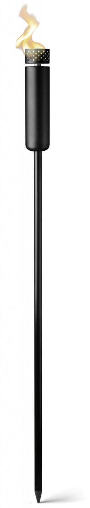 Menu's sleek and elegant Norm Fire Torch from RoyalDesign www.royaldesign.com/au