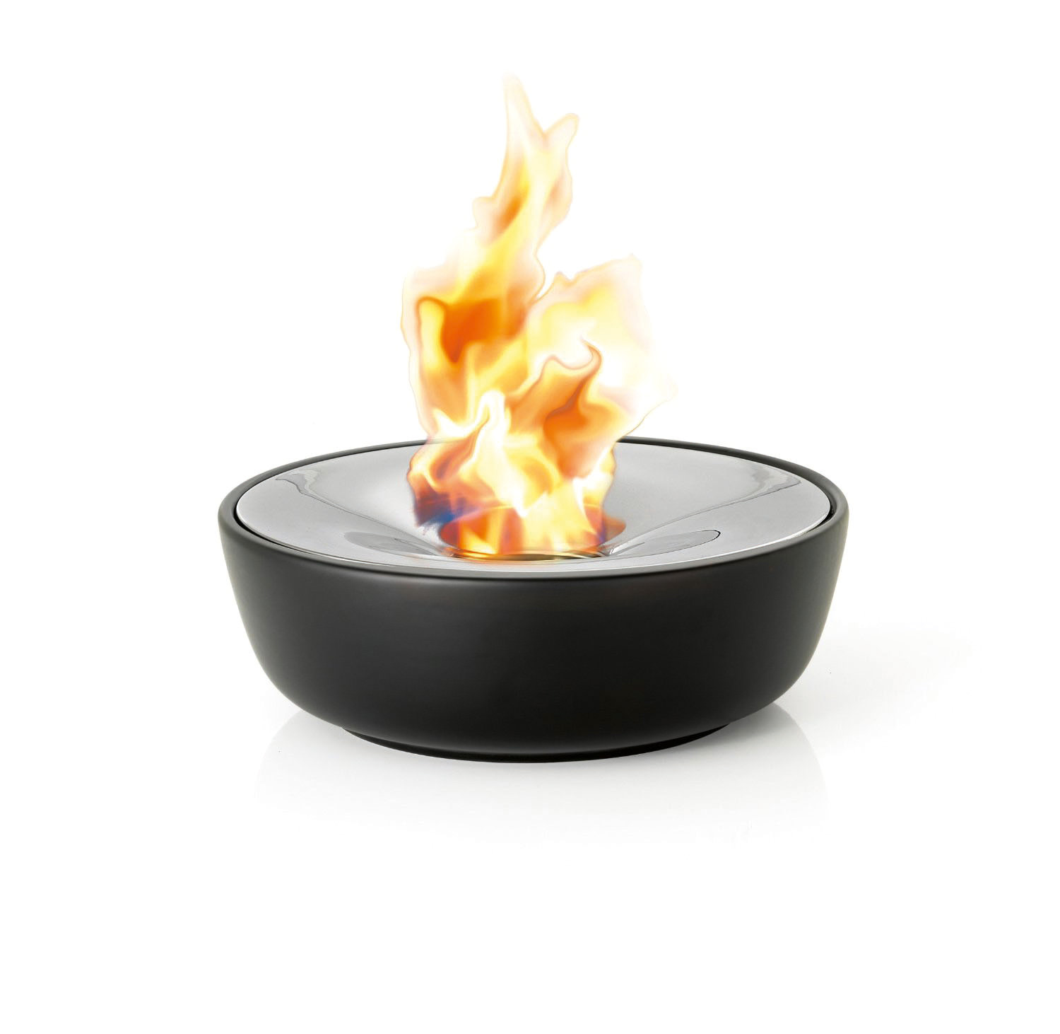 The Fuoco ceramic-bowl tabletop fire pit from Blomus www.blomus.com.au