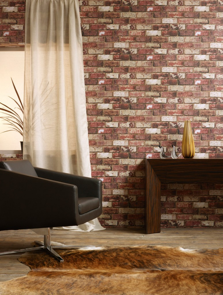 Go for an urban, industrial feel with a unique point of difference. The Red Brick wallpaper from GRAHAM & BROWN boasts exceptional quality and attention to detail for a gritty, realistic effect. grahambrown.com/uk