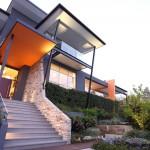A modern garden design