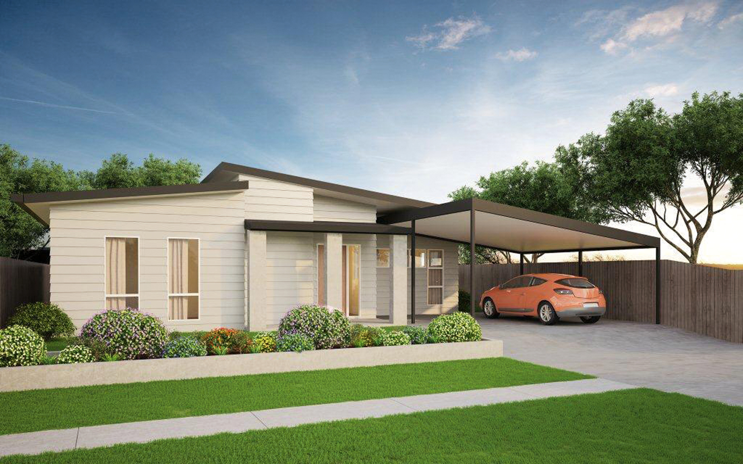 Modern gem a kit home completehome for Complete kit homes