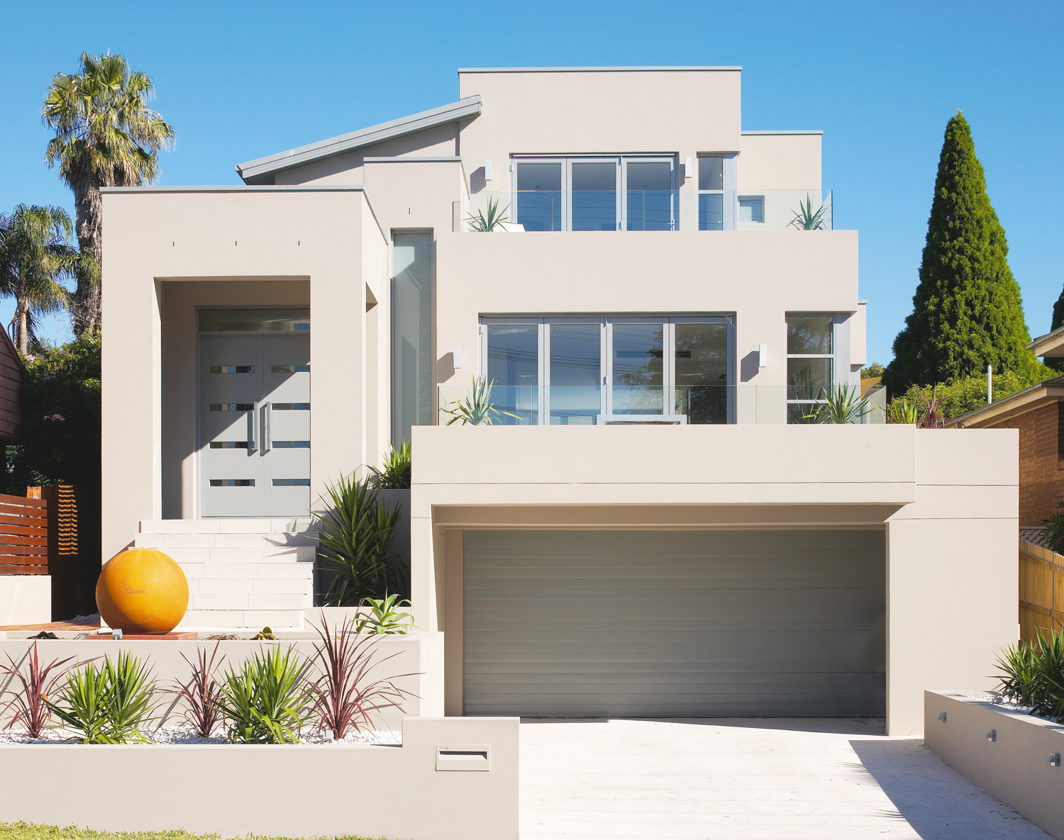 The property is situated in north-western Sydney with views across the Putney Peninsula and beyond.