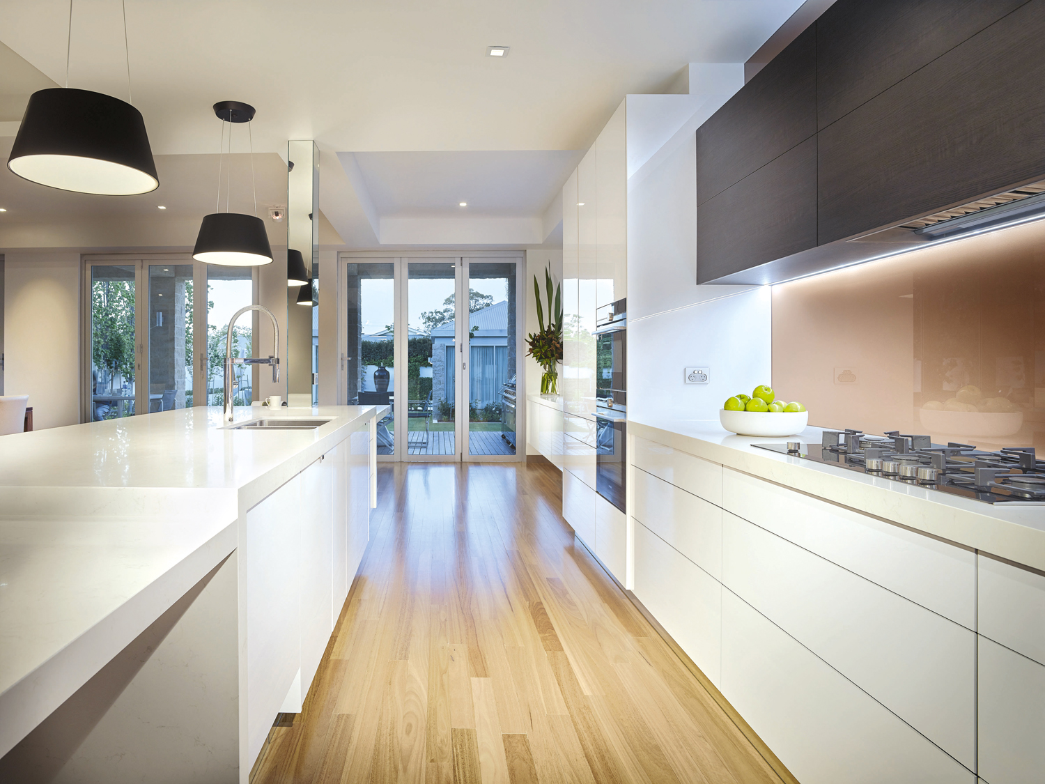 We love this kitchen renovation project