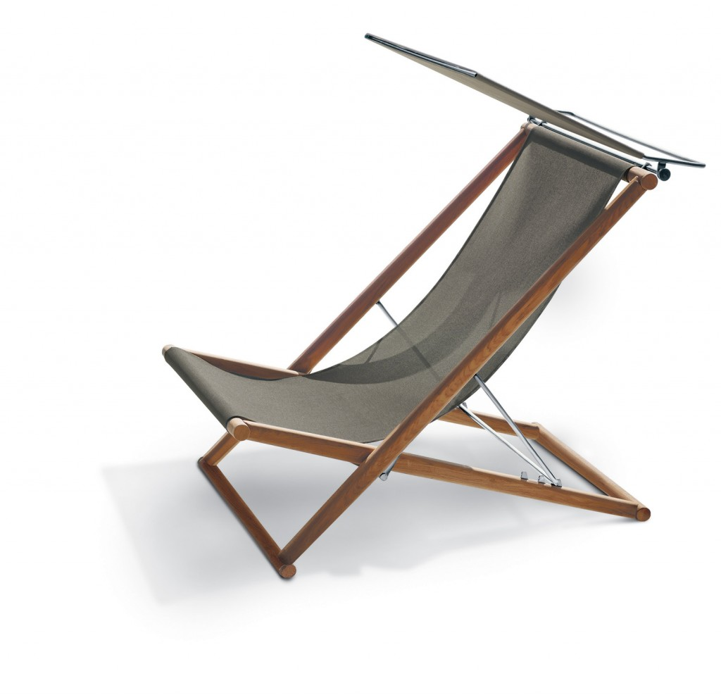 Roda's elegant Orson deck chair with teak frame from Contempo www.contempocollection.com.au