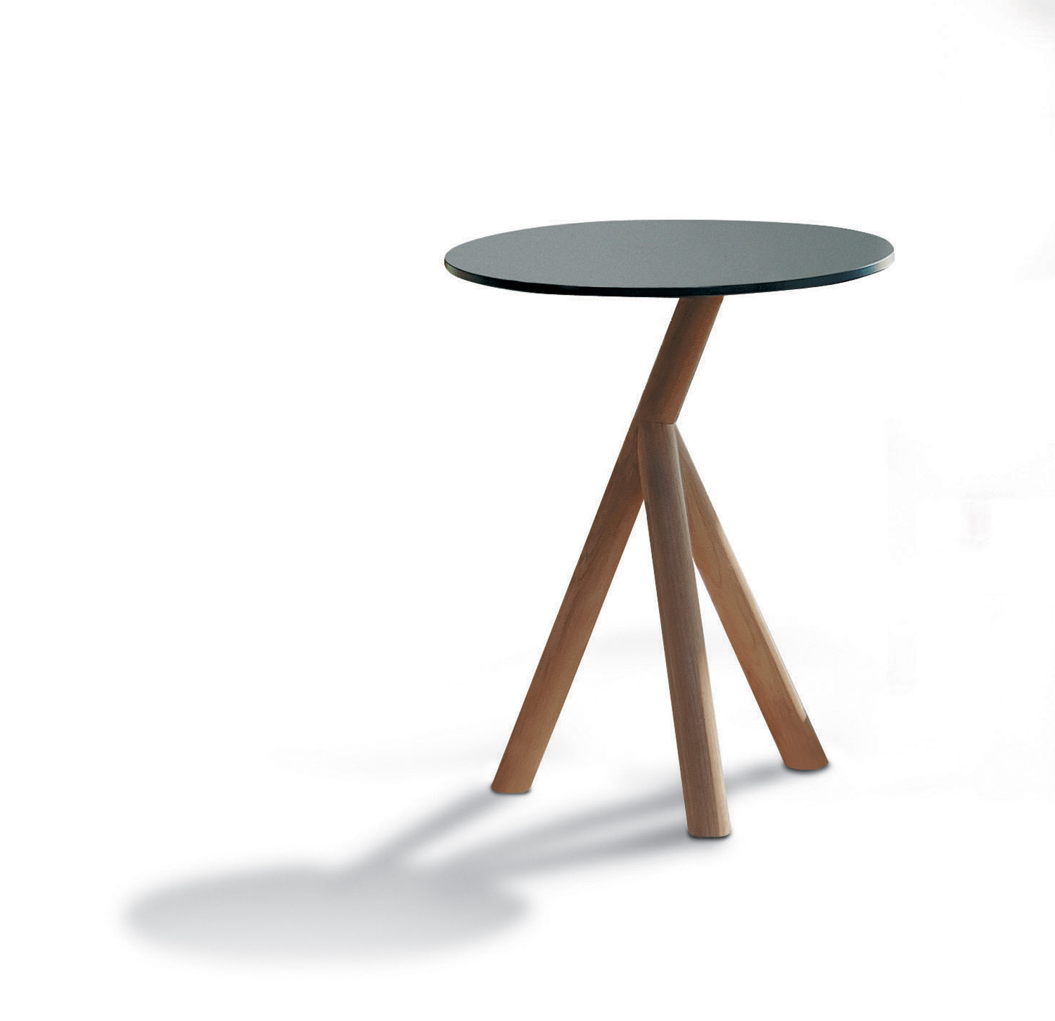 Roda's teak Stork side table, for inside or out, from Contempo www.contempocollection.com.au